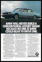 BMW 733i Ultimate Driving Machine Promo Auto Photo Ad 1978 - $10.99