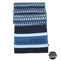 Men Scarf wool GIANFRANCO FERRE Abstract 0478 - £69.20 GBP