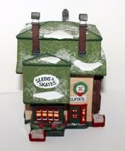 Elfie's Sleds & Skates Department 56 North Pole Heritage Village Collection - $34.95
