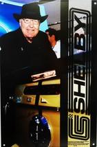 Carroll Shelby Self Portrait Metal Sign - $30.00