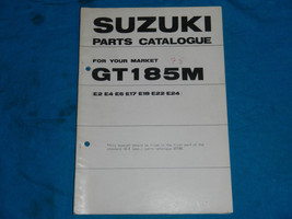 1975 75 Suzuki GT185 Gt 185 #2 Parts Catalog Book Manual - $31.22