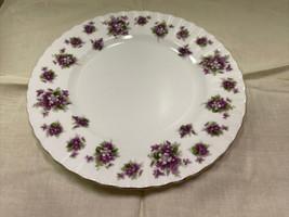 "Royal Albert Sweet Violets 8"" Salad Plate - Purple Floral - $37.74"