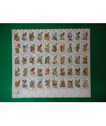 State Birds and Flowers Mint Stamp Sheet NH VF - $15.99
