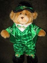 BUILD A BEAR St. Patricks Shamrock TEDDY BEAR - $22.00