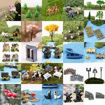 Mini Miniature Fairy Garden Ornament Decor Pot Craft Dollhouse - $5.71