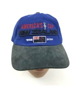 VINTAGE LV Americas Cup Yacht Race Dad Hat 99 TEAM NEW ZEALAND Strapback... - $177.72
