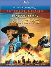 Cowboys  Aliens (Blu-ray Disc, 2014, Includes Digital Copy UltraViolet) - $12.99