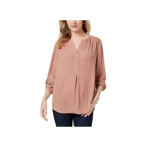 Charter Club Petite Utility Top with Roll-tab Sleeves NWOT Petite XL - $15.35
