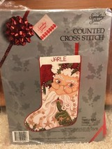 Counted Cross Stitch Santa And Stars Stocking Kit 50504 New By Something Special - $46.71
