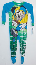 Disney Mickey Mouse Toddler Boys Football Blanket Sleeper Size 4T NWT - $18.99