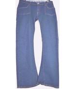 Levi 542 jeans SZ 16 x 33 M bootcut mid rise dark wash stretch W37 L33 t... - $49.49