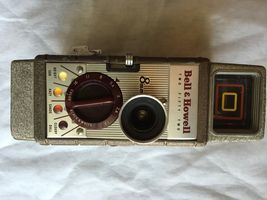 Vintage Bell & Howell Two Fifty Two 8mm Movie Camera (1950's) - $25.00