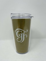 Disney Parks Grand Floridian Gold Beauty and the Beast Insulated Tumbler 16 oz - $39.59