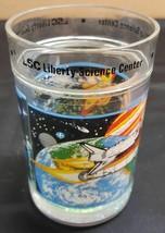 IM) Liberty Science Center Souvenir New Jersey Rocket Ship Glitter Cup 1... - $3.95