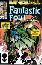 Fantastic Four Comic Book Annual #20 Marvel Comics 1987 VFN/NEAR Mint New Unread - $3.50