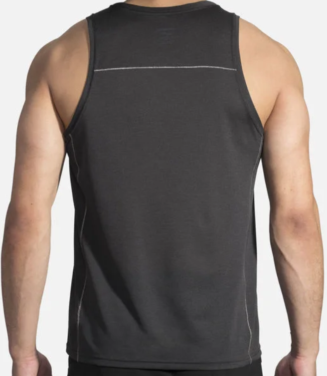 Brooks Ghost Tank Top Size S Small Men's Athletic Running Shirt Black 211134-038