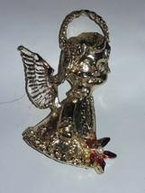 SARAH COV   BROOCH/Charm GOLDTONE Angel - $7.91