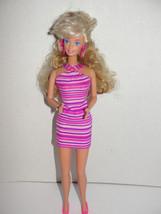 1988 Style Magic Barbie Doll Wondracurl Hair Redressed - $4.99