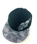 Denver Broncos Reebok NFL Black Ball Cap Hat Style Rare 71/8 - $25.73