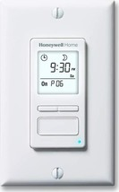 Home RPLS740B1008 Econoswitch 7-Day Programmable Light Switch Timer White - $33.52