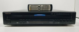 Onkyo 6 Disc Carousel DVD/ CD Changer DV-CP701 with Remote Tested image 1