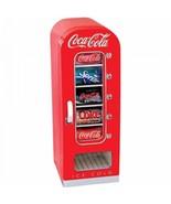 Coca Cola Refrigerator Mini 10-Can Retro Kitchen Vending Fridge New Best... - $219.77