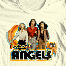 Charlie's Angels T-shirt 1970's disco retro style 100% cotton graphic tee image 1