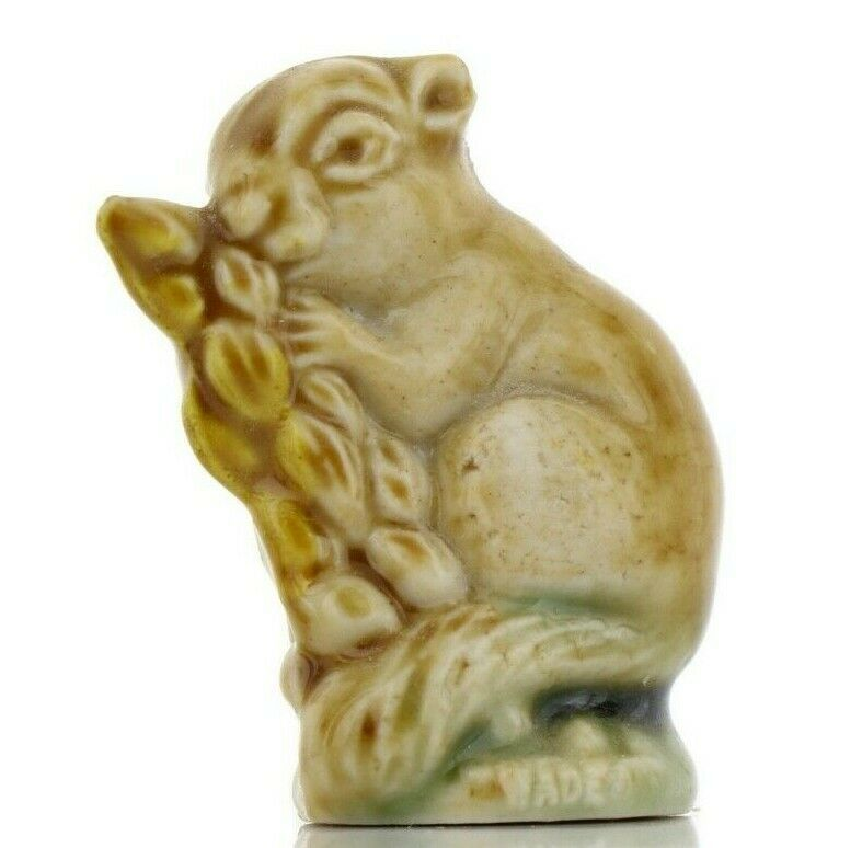 Field Mouse Miniature Porcelain Animal - Whimsies by Wade