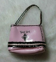 Bratz Barbie Doll Pink Vinyl Purse Good Girl Angel Motif Fits Barbie & F... - $14.84