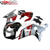 Red Silver Black Fairings for 2002 2003 Suzuki GSXR600 2000 2001 GSXR750... - $667.82