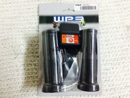 """Fire Power WPS Electric 12V Heated Rubber Grips for 7/8"""" Bars ATV / Snowmobile image 1"""