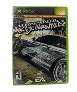 Need for Speed: Most Wanted (Microsoft Xbox, 2005) CIB w/ Manual EA - $13.50