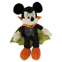 Disney Parks Exclusive Mickey Mouse as Vampire Halloween Plush New with Tag - $29.38