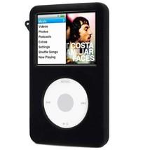 DIGIFLEX Black Silicone Rubber Cover Case for iPod Classic 80GB 120GB - $2.49