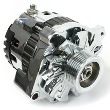 GM CS130 Type 220 Amp Alternator with Serpentine Pulley Chevrolet GM Oldsmobile