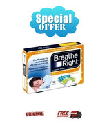 GSK Breathe Right FOR KIDS 10 NASAL stripes *NATURAL* DESIGNS - $14.80