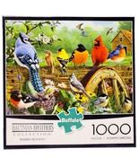 New Buffalo Games Hautman Brothers Railbird Reunion 1000 Pc Jigsaw Puzzle - $39.55
