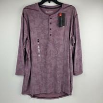 Under Armour Men Threadborne Utility 3/4 Sleeve Henley Shirt 1311024 Rai... - $39.95