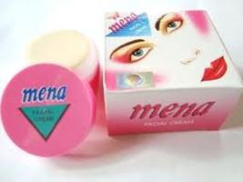 12 Pieces Mena Cream Facial Whitening Cream 3g Each Free Shipping - $23.27