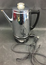 Vintage Stainless Westinghouse Electric Coffee Perculator # HP35-1  WORKS!! - $35.00