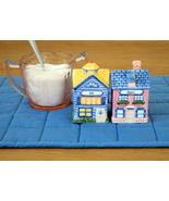 Avon Collectible Little Townhouse Salt & Pepper Shakers Set - $20.00