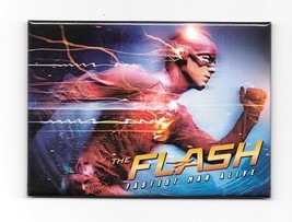DC Comics The Flash TV Series Fastest Man Alive Refrigerator Magnet NEW ... - $3.99