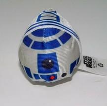 Disney Store Tsum Tsums R2D2 Star Wars Robot Stackable Lucasfilm Plush Toy - $5.00