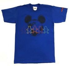 Walt Disney T Shirt Adult Size Small Short Sleeve Blue Teddy Bear Graphic Tee - $8.74