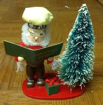 Kurt Adler Chocolate Hershey's Wood Elf Christmas Carol Ornament, 1993 - $12.99