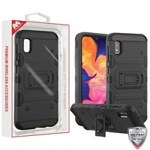Samsung GALAXY A20 Shockproof Impact Tuff HYBRID Armor Rugged Phone Case Cover - $8.81