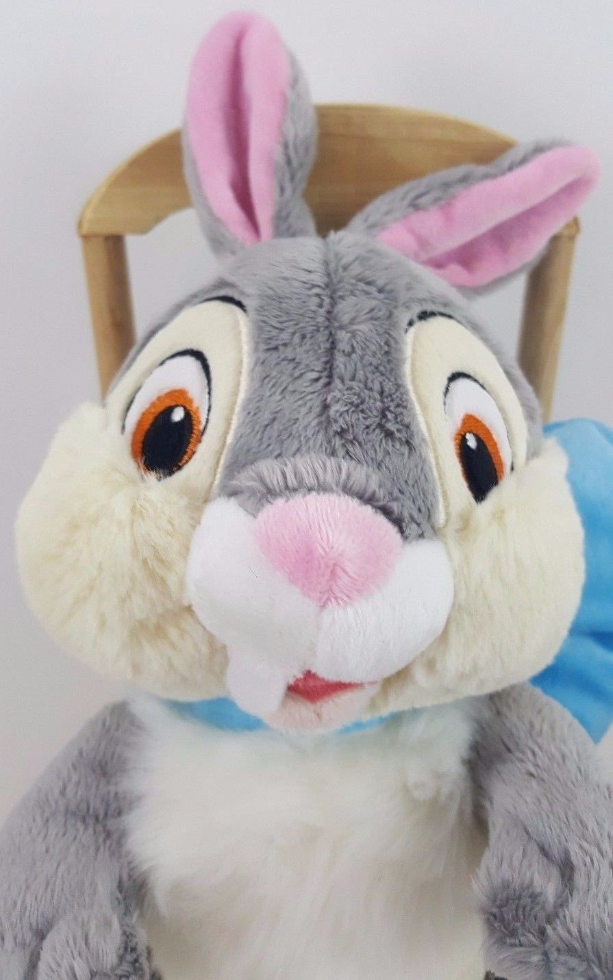 Disney Store Thumper Exclusive Authentic Easter Bunny Blue Bow 10 Inch Plush
