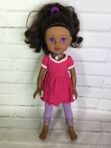 Playmates Hearts for Hearts Nahji India Indian Doll Brown Hair With Outf... - $19.79