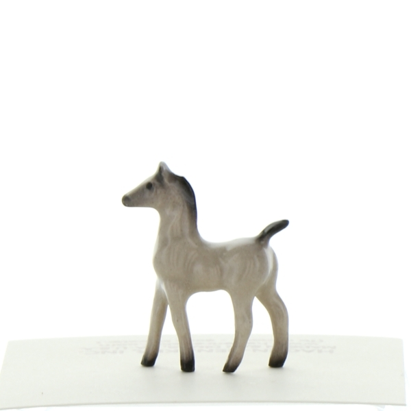 Jumping Horse with Rider Specialty Figurine Made in USA by Hagen-Renaker