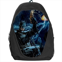 backpack school bag batman - $39.79